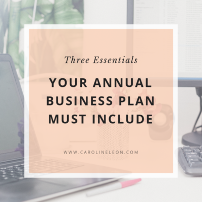 Three Essentials Your Business Plan Must Include