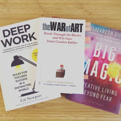 3 Books That Have Influenced My Creativity